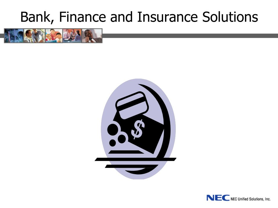Networking Financial institution branches are connected by a data network.