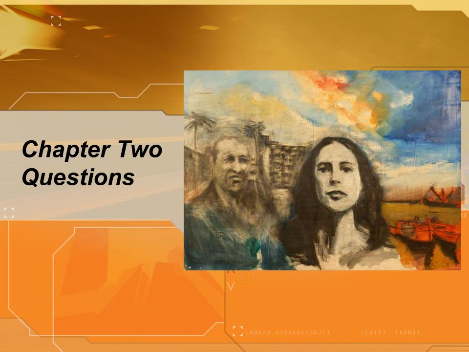 Chapter Two Questions