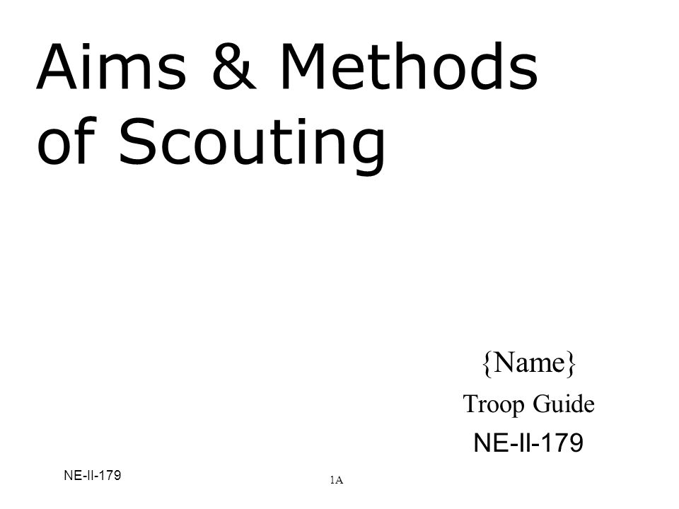 Learning Objectives Understand the underlying principles of Scouting Realize how the AIMs of Scouting apply to Cub Scouting, Boy Scouting, Varsity Scouting, and Venturing Relate the AIMs of Scouting to your own lives and BSA responsibilities 2