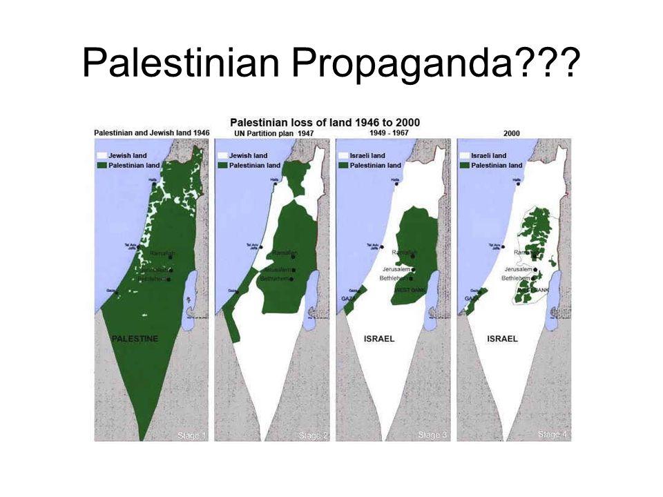Palestinian Propaganda???