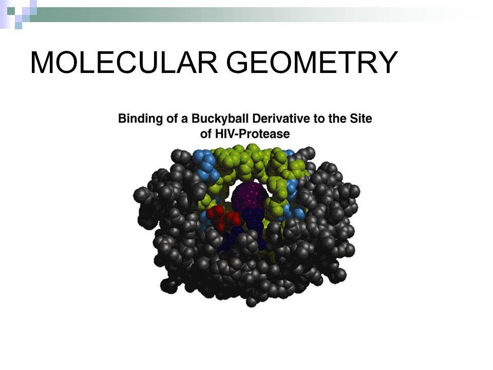 The VSEPR Model Predicting Molecular Geometries