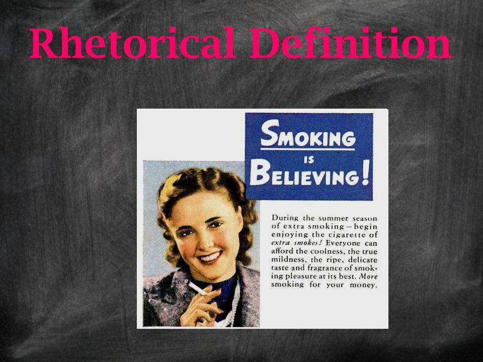 Rhetorical Definition