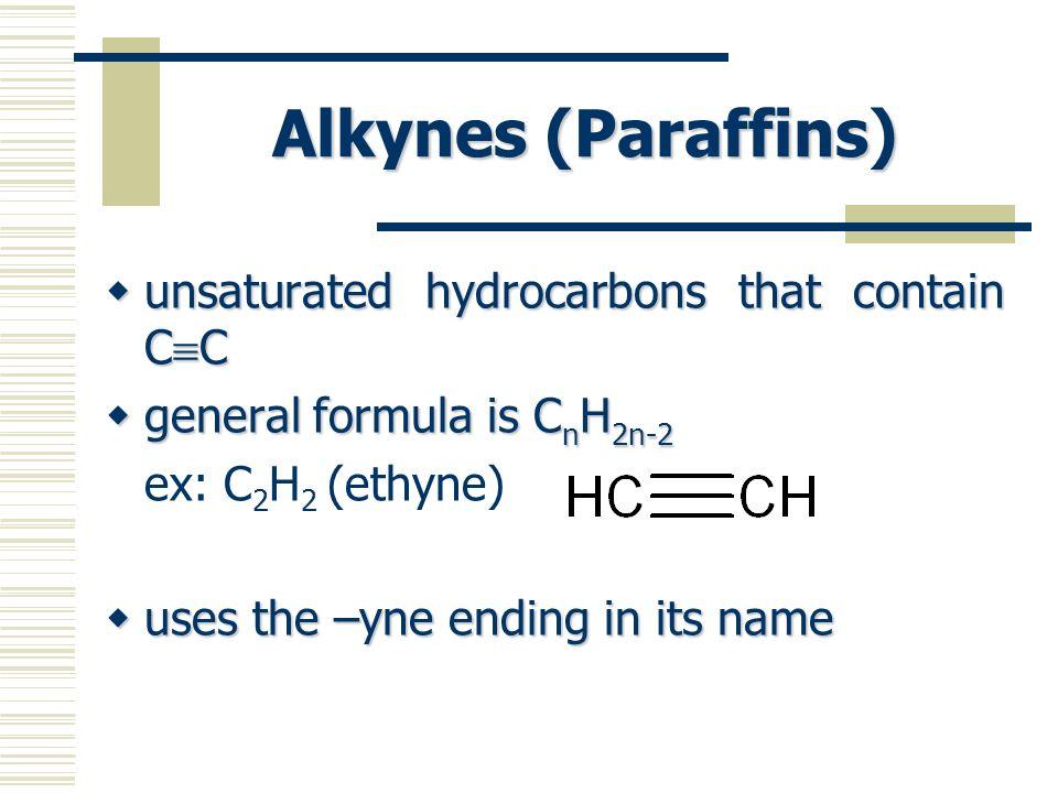 Naming Alkenes & Alkynes Step 1: Choose the longest continuous carbon chain that contains the double/triple bond as the parent chain.