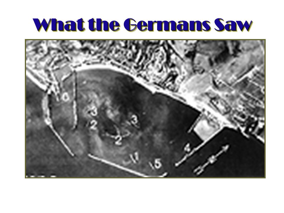 What the Germans Saw