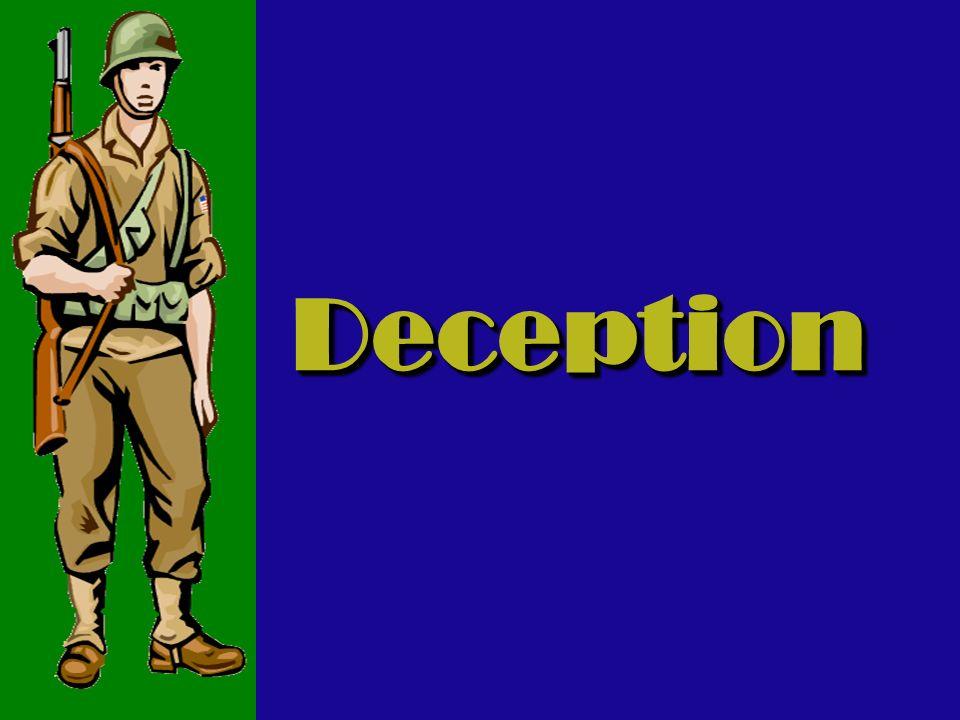 DeceptionDeception