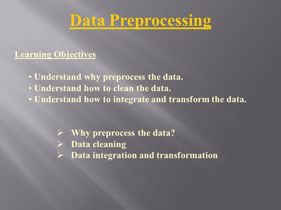 Why Data Preprocessing.1.