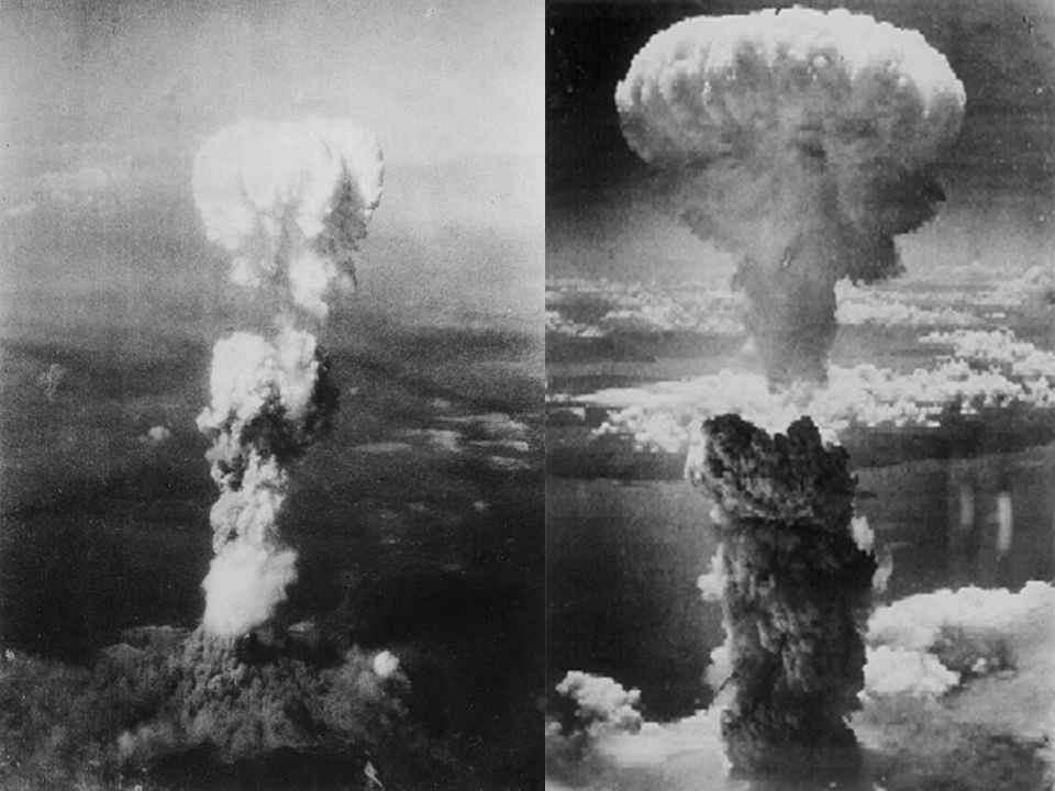 VII. War Comes to an End VII. War Comes to an End B. Victory in the Pacific 3. U.S. dropped 2 atomic bombs: 1 on Hiroshima and 1 on Nagasaki. The deva