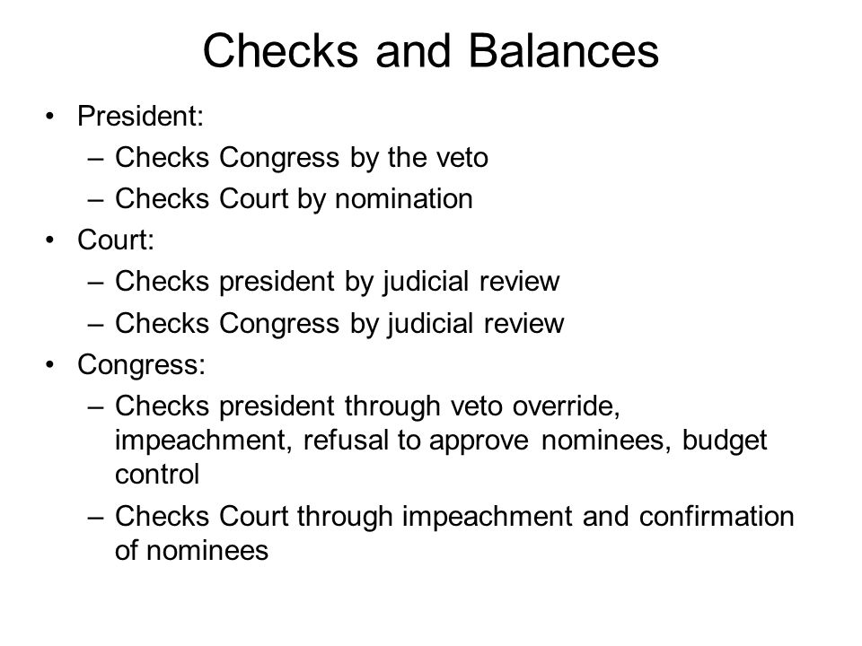 S-O-P and C&B Exercise Sample Government Essay Question Separation of Powers and Checks and Balances are often discussed as if they are virtually identical concepts.