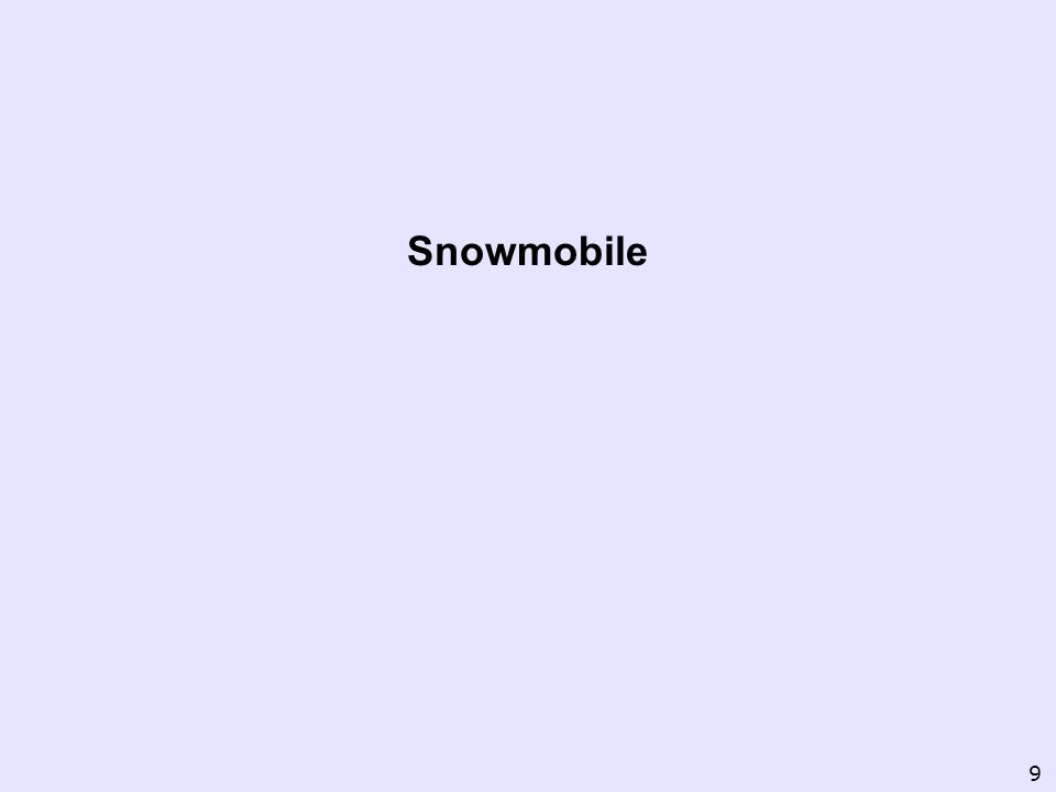 Snowmobile 9