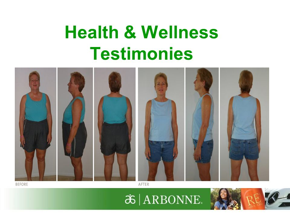 Karlinda Heims, pictured in this photo, lost 61 pounds in 7 months with Arbonnes 30 Days to Feeling Fit Plan.