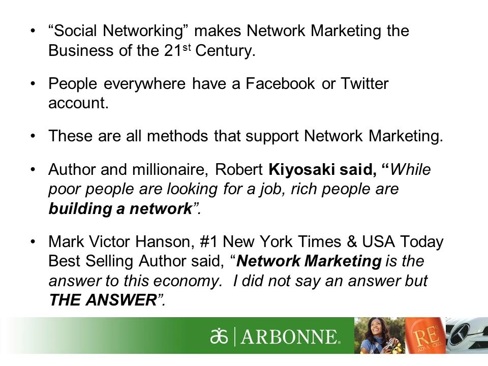 What is Network Marketing.