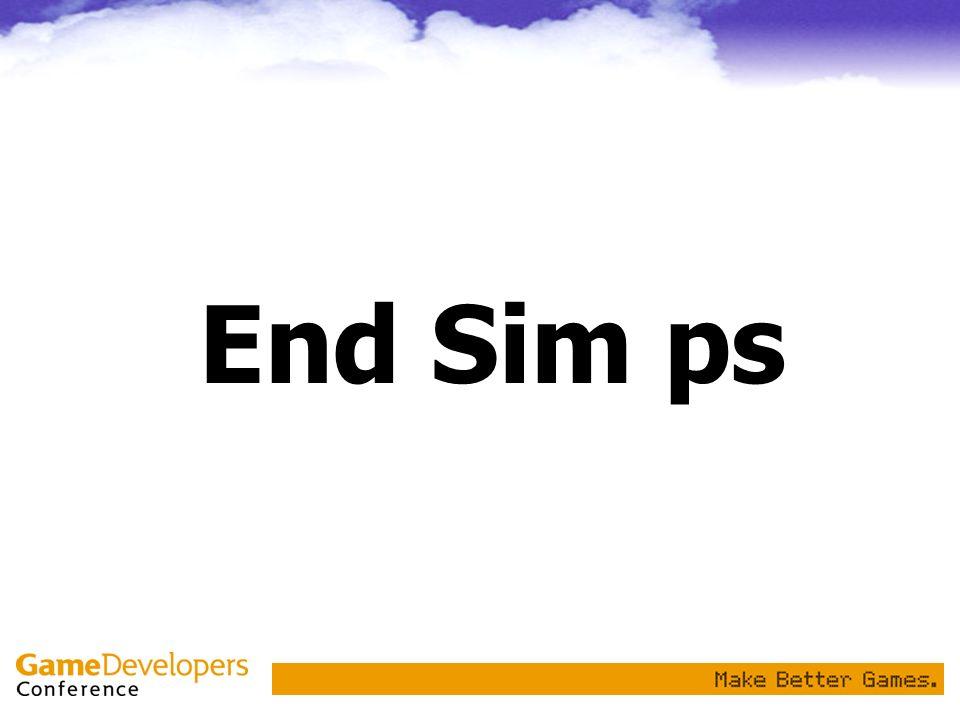 End Sim ps