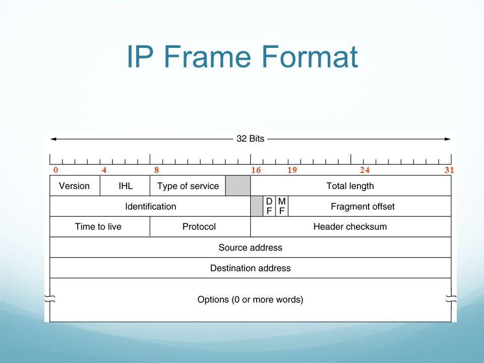 IP Frame Format 04816192431