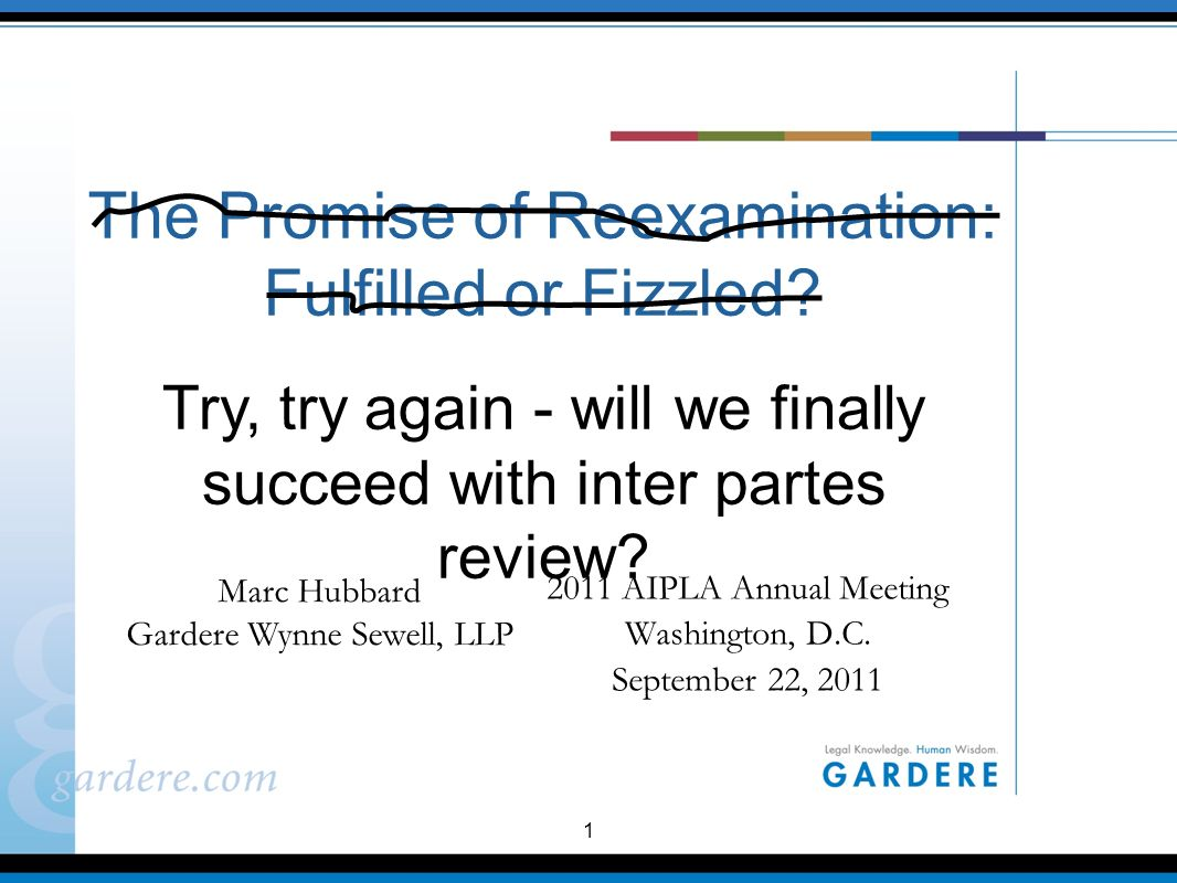 1 The Promise of Reexamination: Fulfilled or Fizzled.