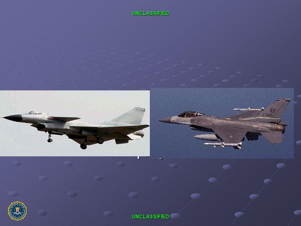 UNCLASSIFIED UNCLASSIFIED PRC J-10 F-16