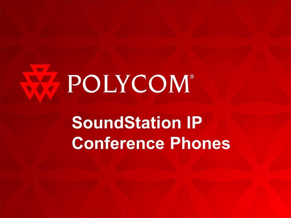 SoundStation IP Conference Phones