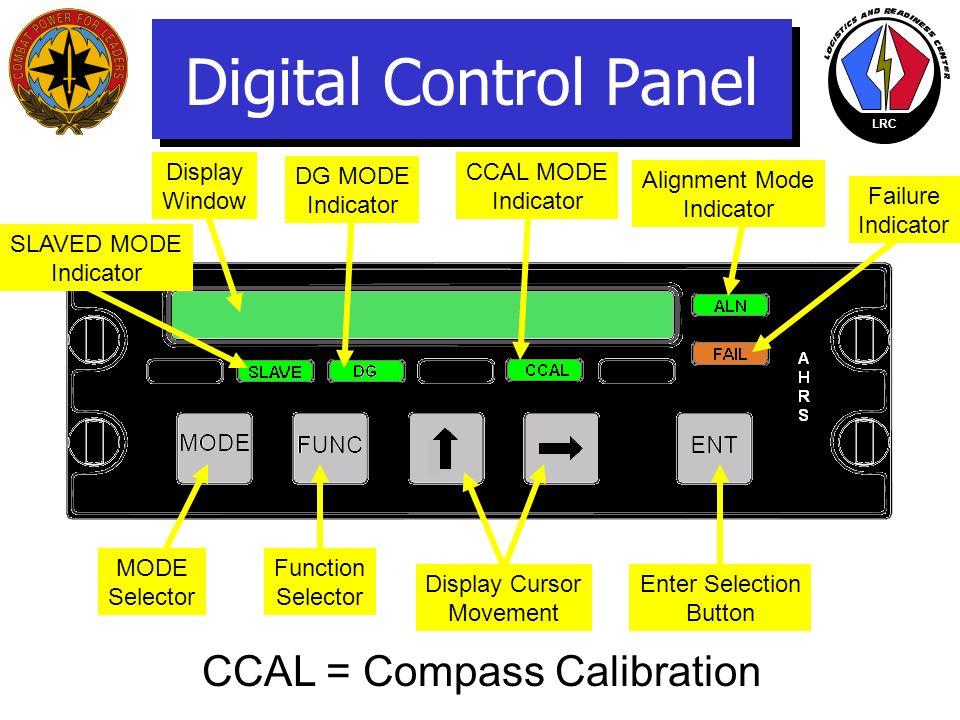 LRC DIGITAL CONTROL PANEL (DCP)