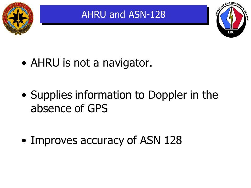 LRC Interconnections FLUX VALVE NAVIGATION SET, AN/ASN-128 HSI VSI AFCS