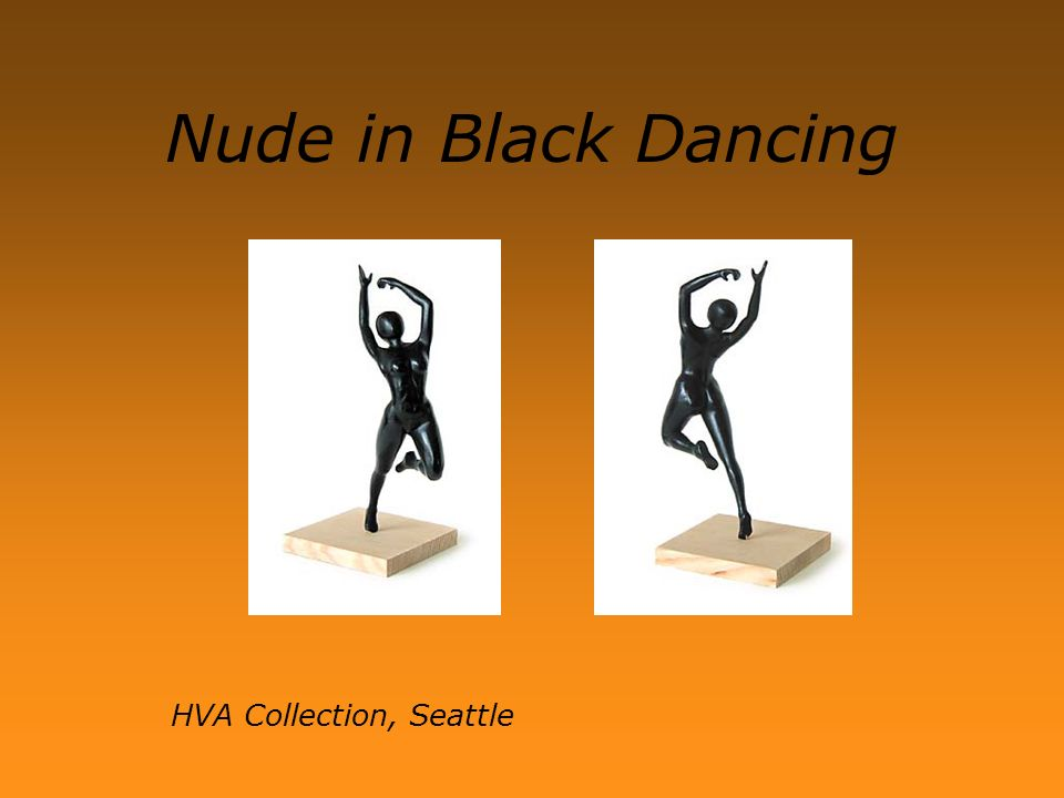 Nude in Black Dancing HVA Collection, Seattle