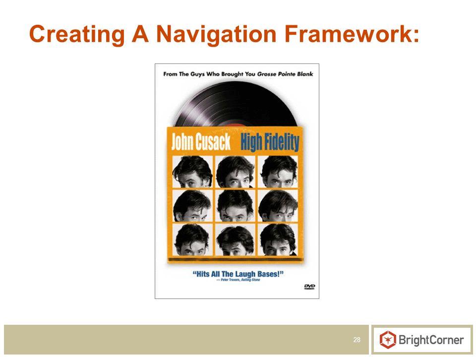 28 Creating A Navigation Framework: