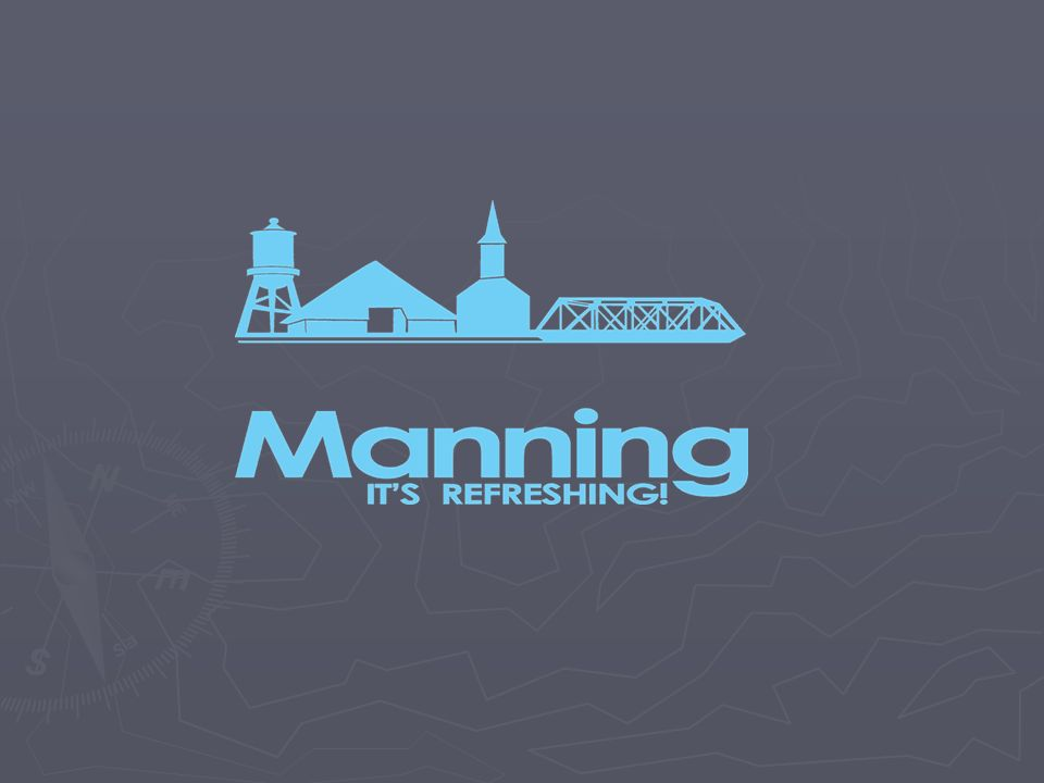 Manning is…..so much more…..than …a strong volunteer network …multiple community foundations and non-profit groups …civic-minded banks and community development organizations …an active historic preservation organization …a progressive citizenry & leadership teams