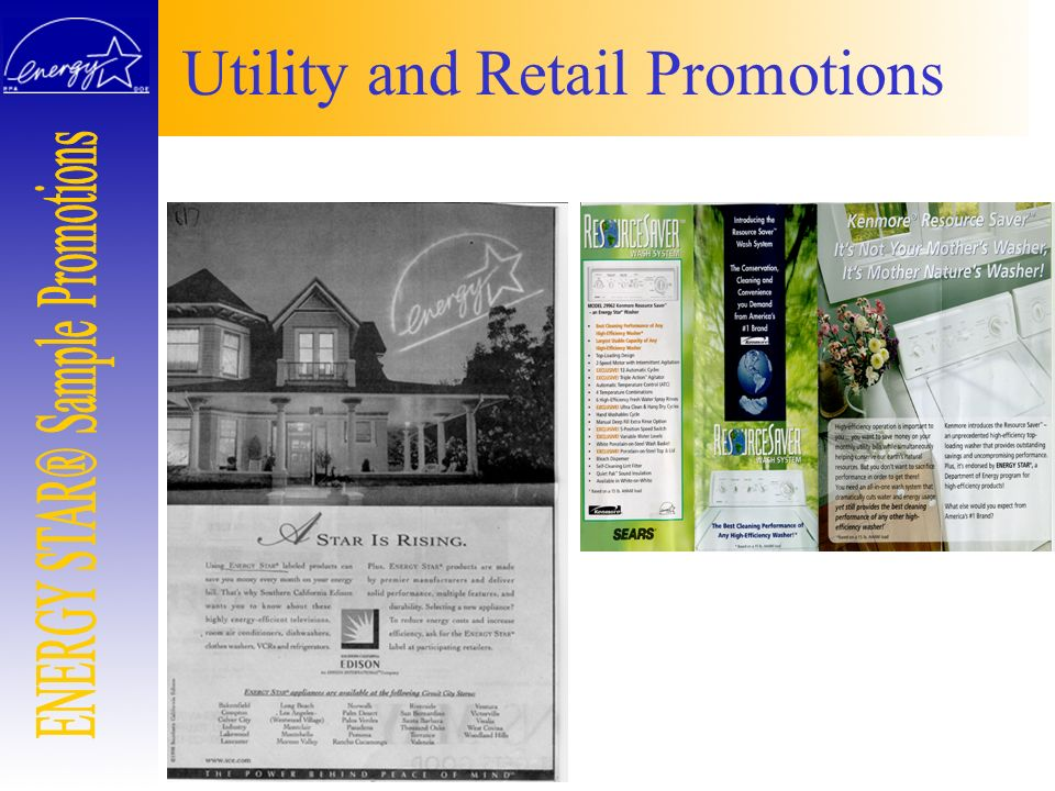 Utility and Retail Promotions
