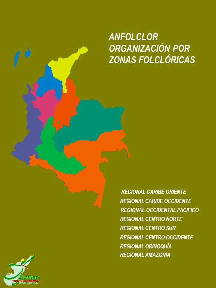 REGIONAL ORINOQUÍA REGIONAL CENTRO OCCIDENTE REGIONAL CENTRO SUR REGIONAL CENTRO NORTE REGIONAL OCCIDENTAL PACIFICO REGIONAL CARIBE OCCIDENTE REGIONAL