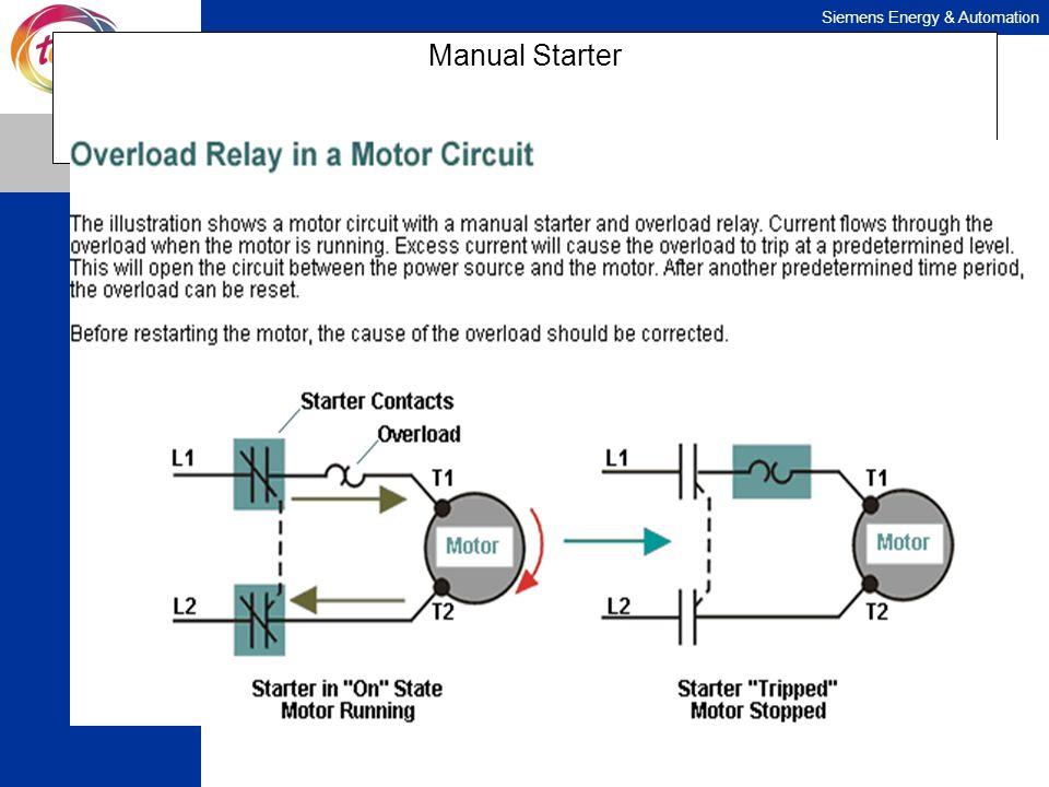 Siemens Energy & Automation Manual Starter