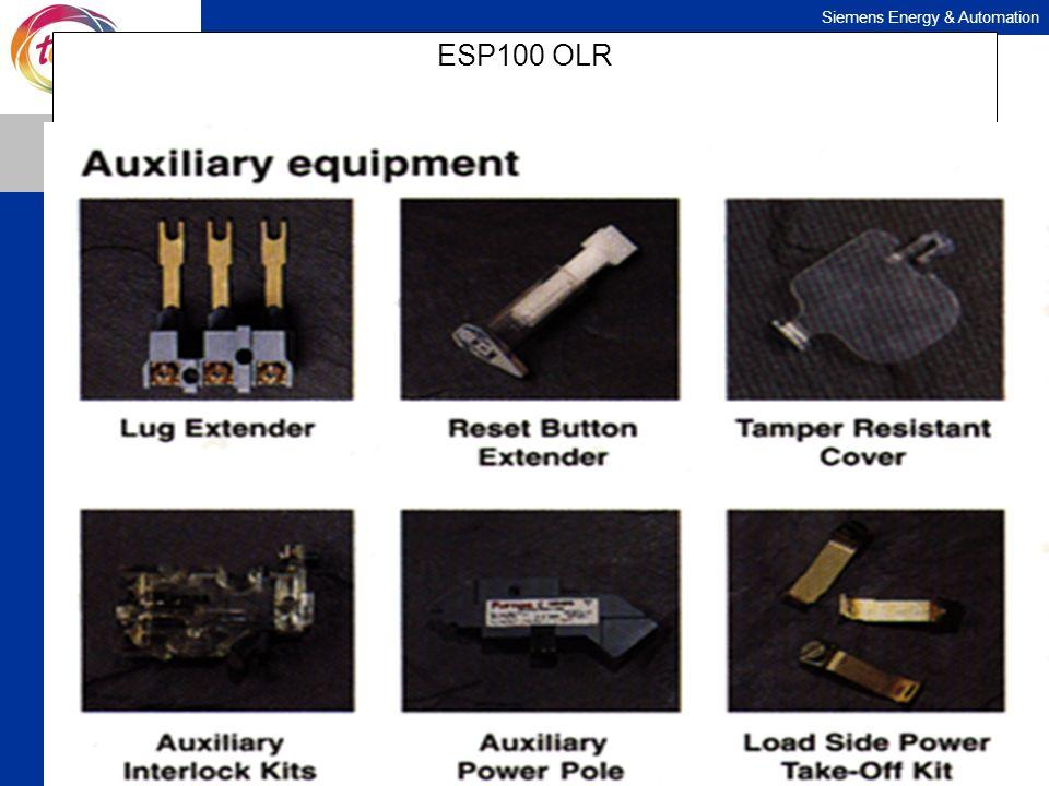 Siemens Energy & Automation ESP100 OLR