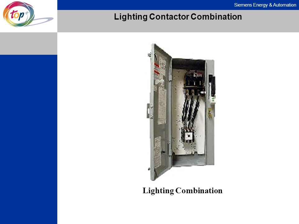 Siemens Energy & Automation Lighting Contactor Combination Lighting Combination