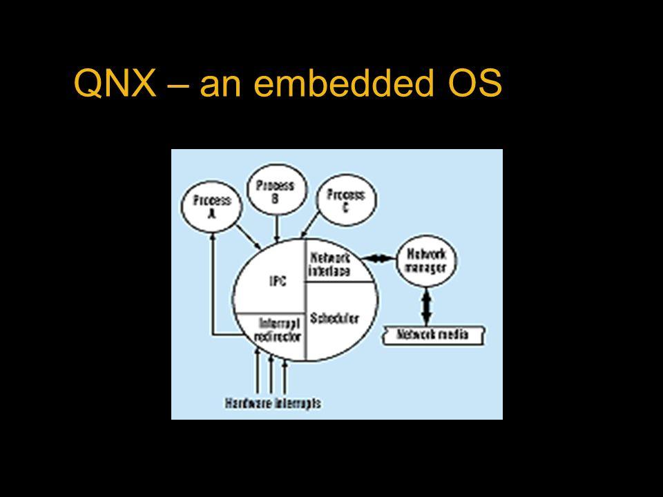 QNX – an embedded OS