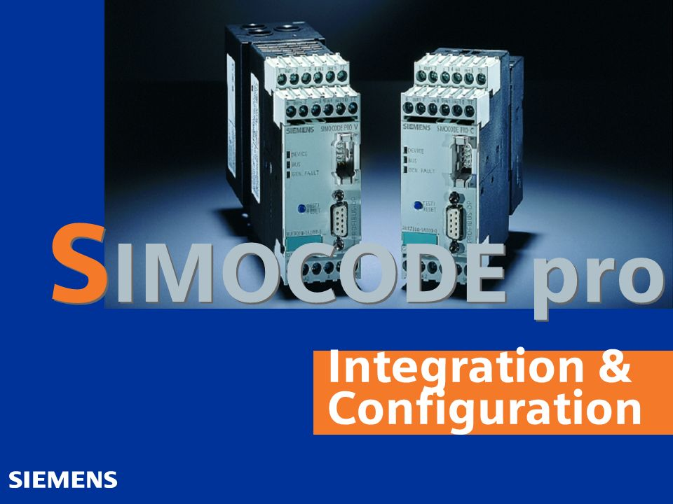Integration & Configuration S IMOCODE pro