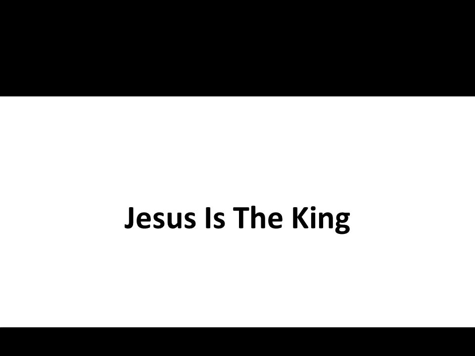 Jesus is the King, ruler over everything Jesus is the one, promised one, the Son of God Jesus is the Lord, hes the one you cant ignore Jesus, Jesus: he is the King Song – Jesus Is The King