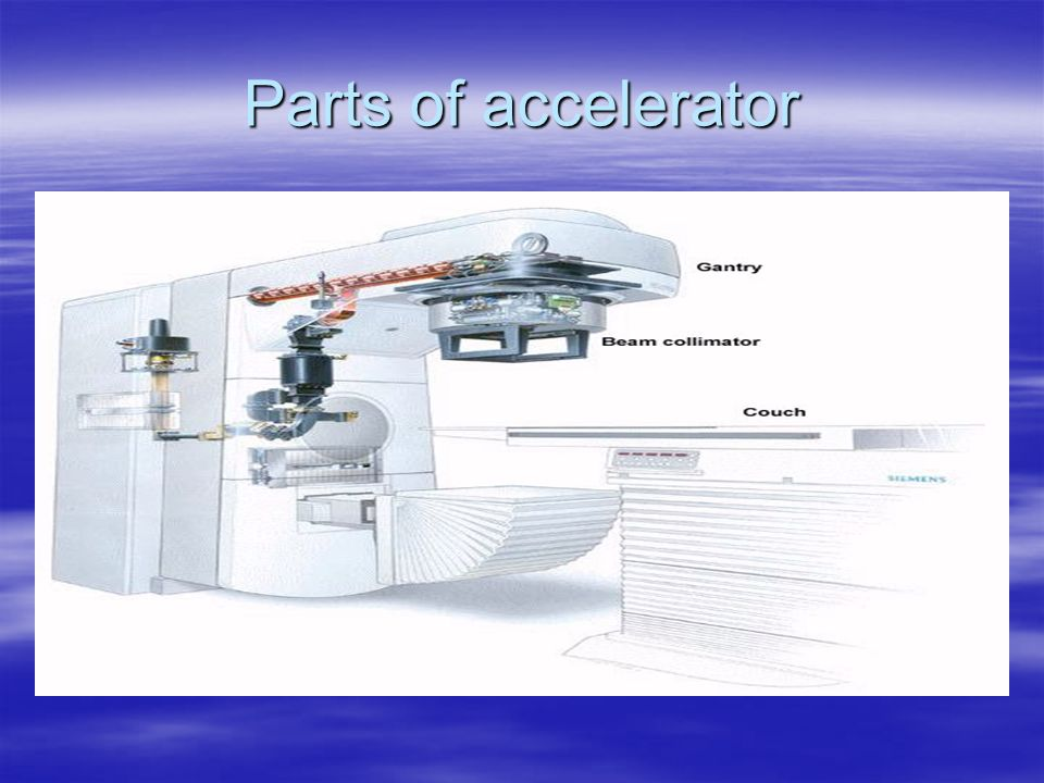 Parts of accelerator