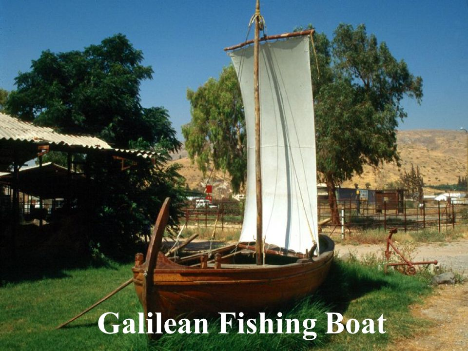 Galilean Fishing Boat