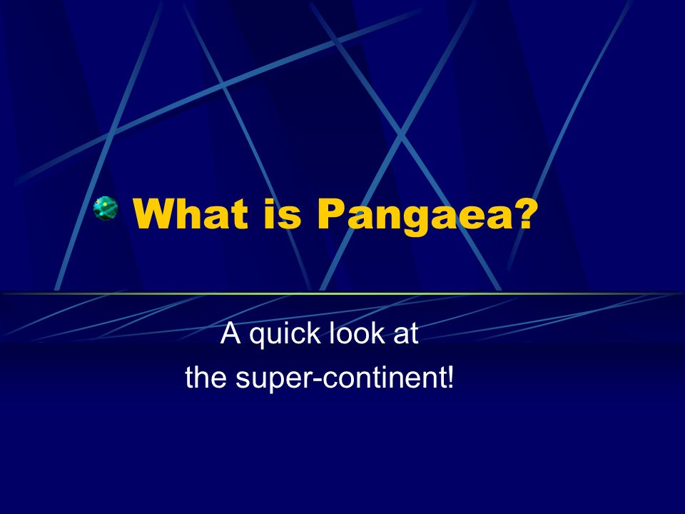 Is Continental Drift REAL.Pangaea IS, but Continental Drift is NOT.