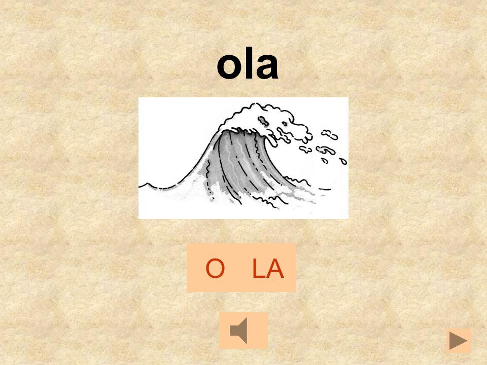 L - S OLA LILA ALA OSO SUELO SALA