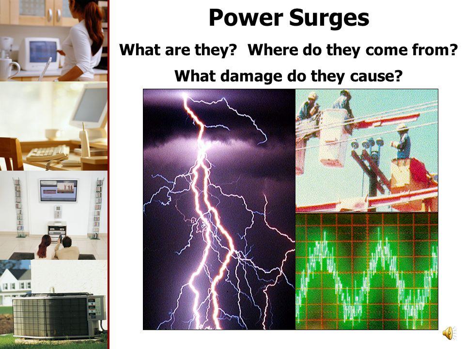 What is a power surge? Tutorial SA1