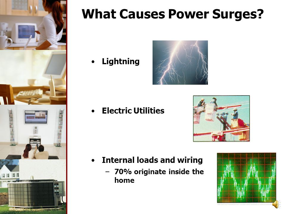 What is a Power Surge? Power surges are abnormally high voltage spikes riding on the AC Power A power surge is the most common of a number of conditio