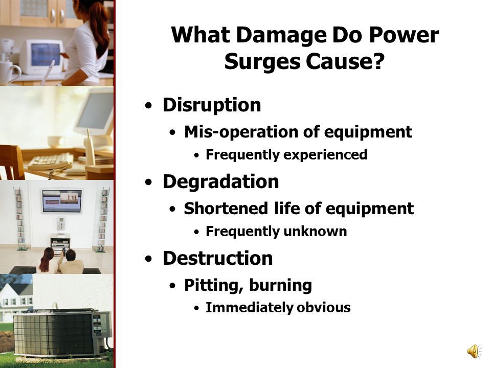 What Damage Do Power Surges Cause.