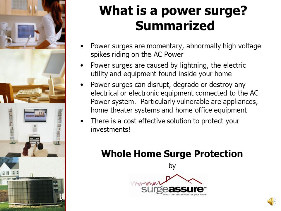 What is a power surge.