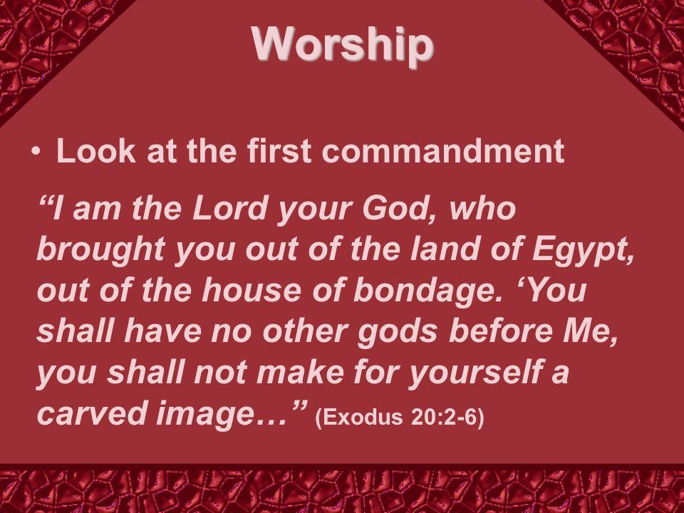 Three Kinds of Unacceptable Worship