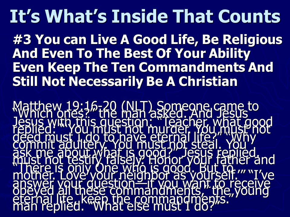 Who Then Is A Christian.Believe on the Lord Jesus Christ and you shall be saved.