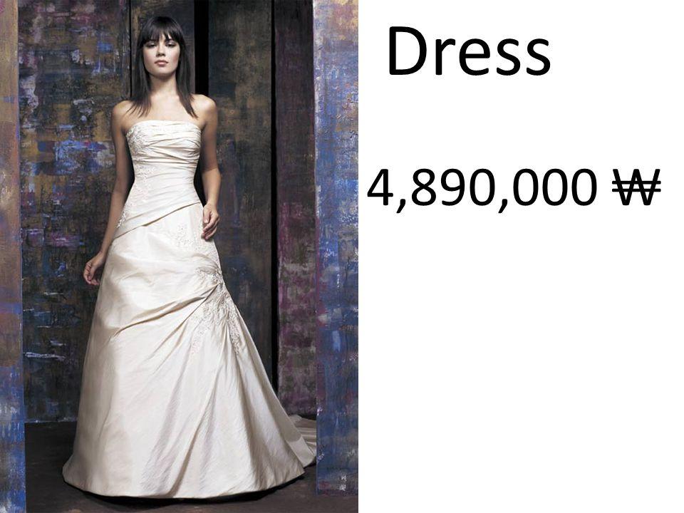 Dress 4,890,000