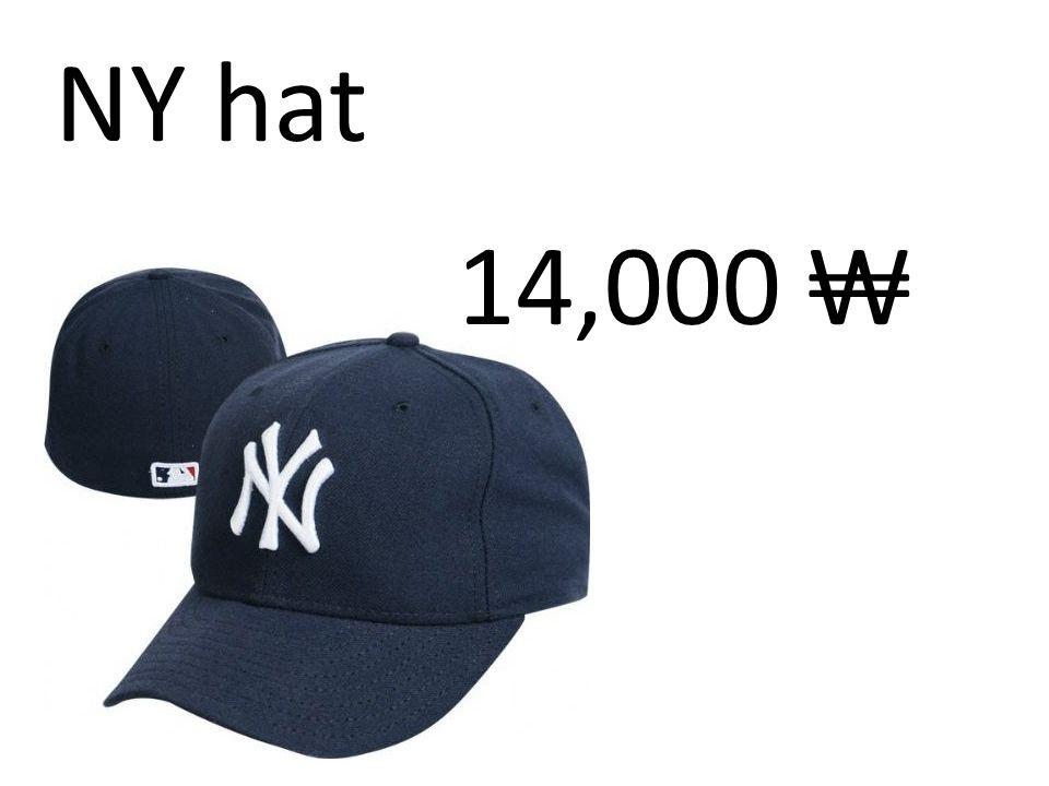NY hat 14,000