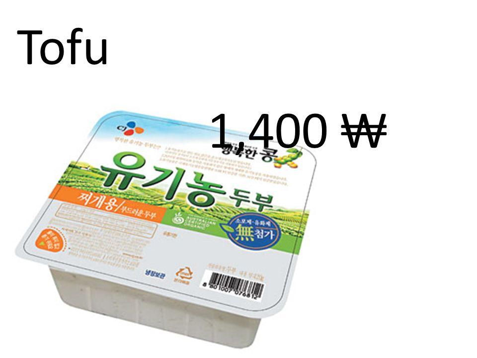 Tofu 1,400