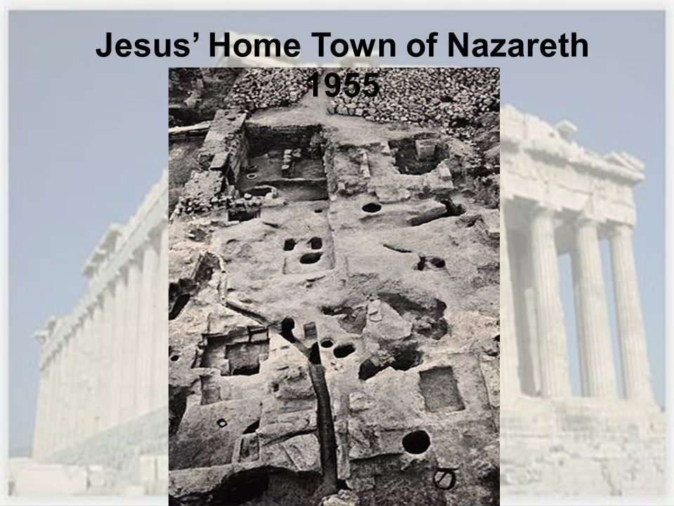 Jesus Home Town of Nazareth 1955