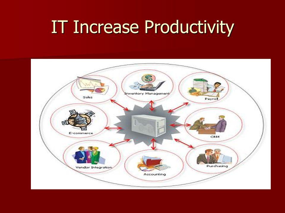 IT Increase Productivity