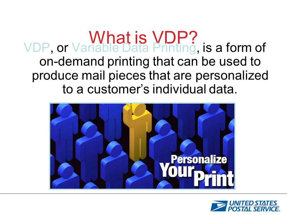 What is VDP.