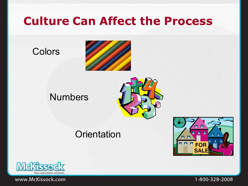 Culture Can Affect the Process Colors Numbers Orientation